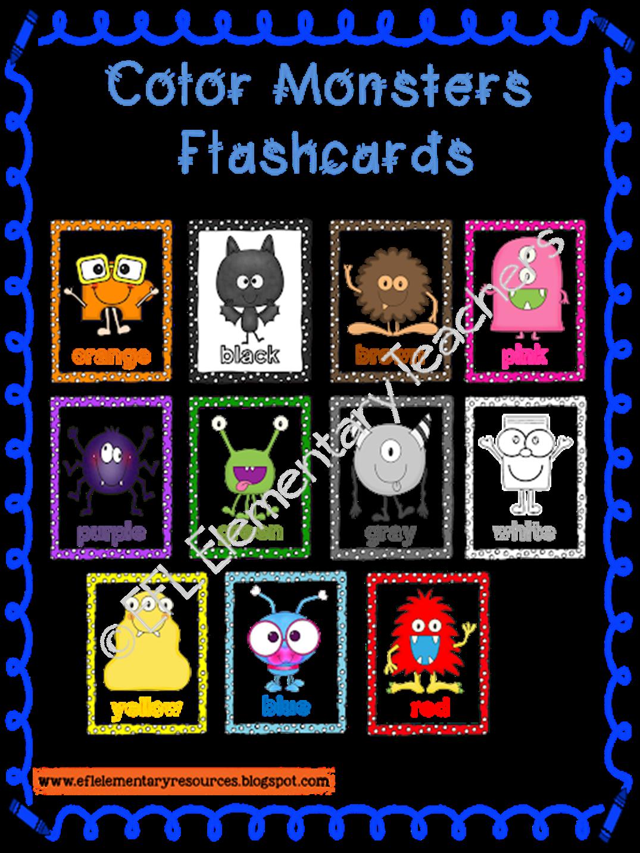 Efl Elementary Teachers Color Theme For Elementary Esl