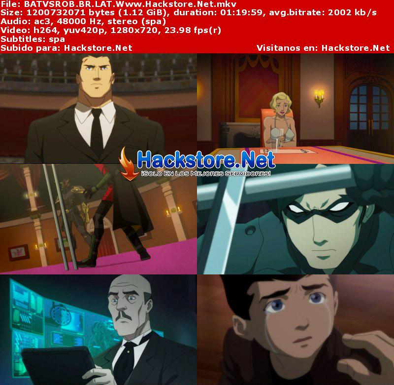 Capturas de Batman vs. Robin (2015) Blu-Ray RIP HD Latino