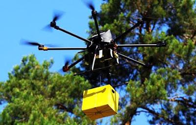 Тест поштового дрону