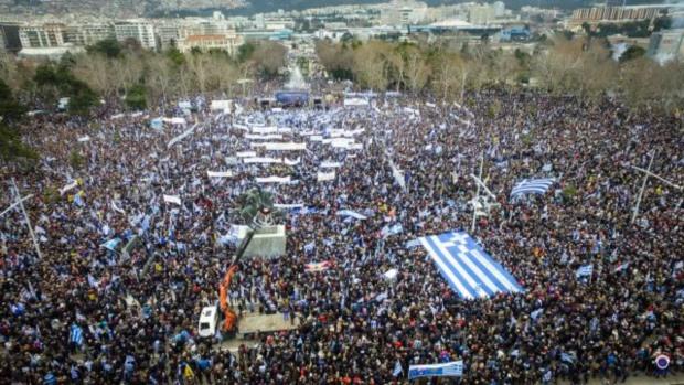 Νίκος Λυγερός - Το ιστορικό Συλλαλητήριο (για το Σκοπιανό)