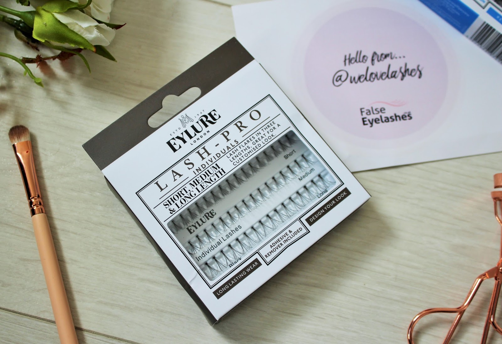 Eylure lashes from falseeyelashes.co.uk - 5 - Pro-lash individual lashes