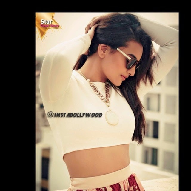 sonakshi sinha in white crop top for star week magazine dec 2014 issue.. i lover here here :)  insta bollywood , bollywood , sonakshi sinha , asl ison a , @aslisona star week ,, Most Popular Photos Of This Week