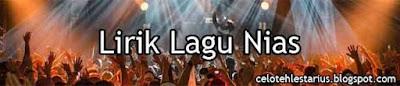 Arou Fabo'o Legau Bazilalo Lirik Lagu Fati Zebua
