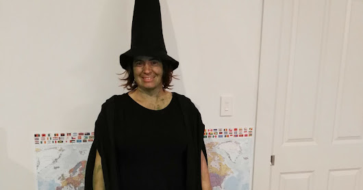 A Quick Sew - A Witches Hat
