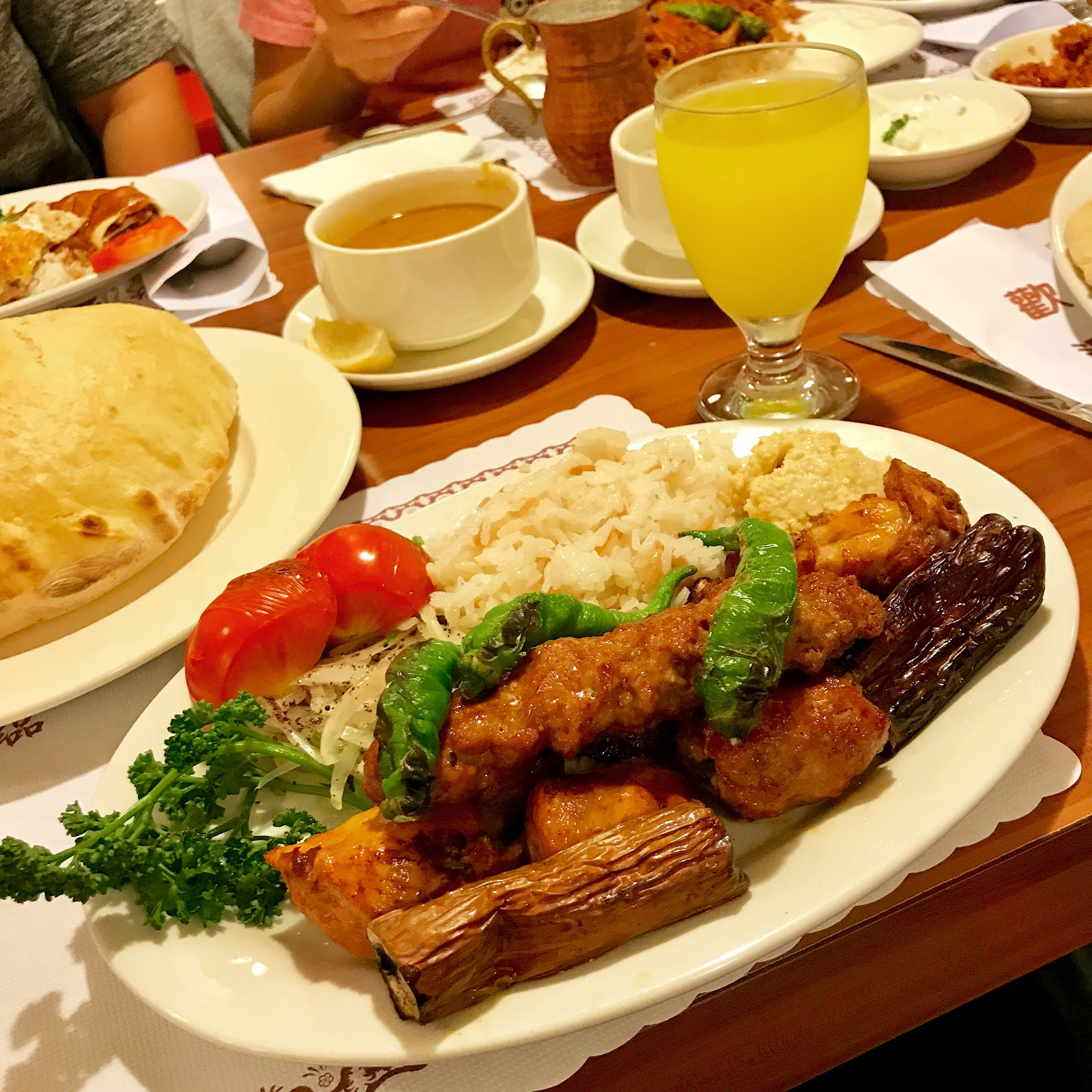 番紅花城土耳其餐廳 @ 半夜摸黑翻冰箱 :: 痞客邦