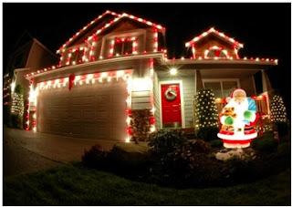 cómo adornar la casa por fuera en navidad, decoraciones navideñas para afuera de la casa
