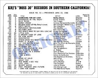 KHJ Boss 30 No. 51 - June 22, 1966