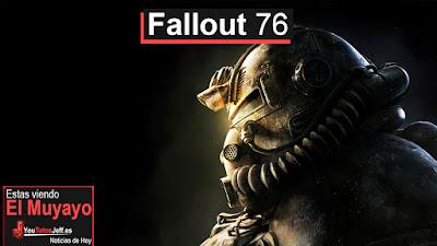 Fallout 76 novedades y fecha de lanzamiento