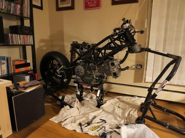 Ducati 916 Living Room Rebuild