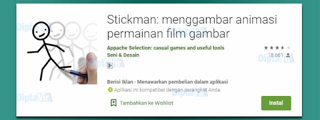Stickman: menggambar animasi permainan film gambar