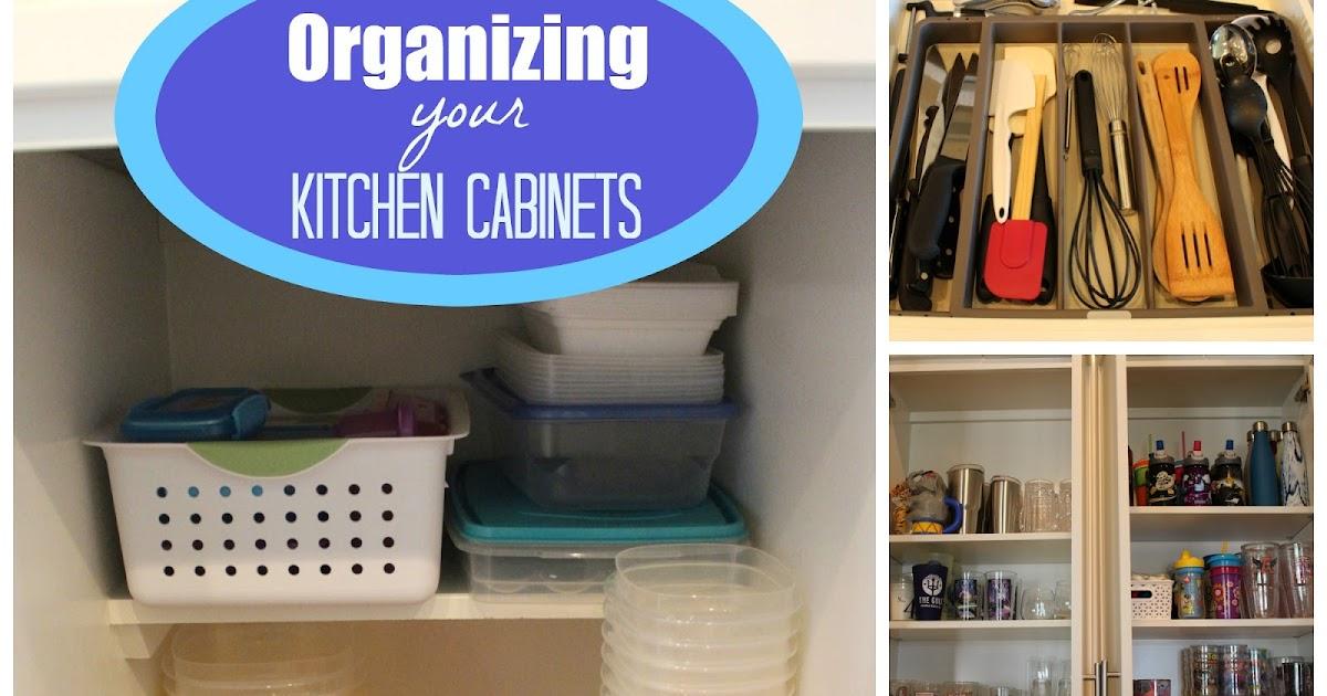 Organizing Plus 123: Organizing Your Kitchen Cabinets