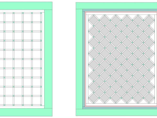 Chatelaine- Free BOW Sampler Quilt Border Inspiration Part 1