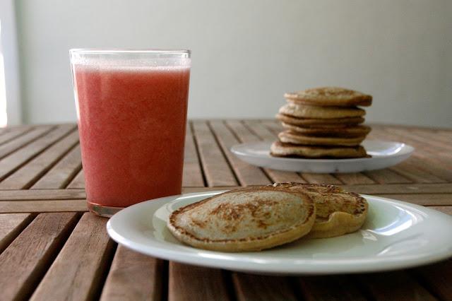Pancakes avena per esmorzar