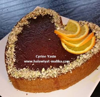 Gâteau moelleux à l'orange كيك روعة بالبرتقال
