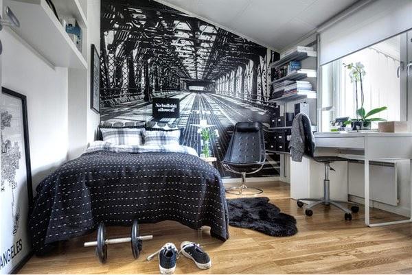 Camere Tumblr Idee : Boiserie & c.: piccole camere da letto