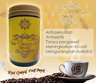 BEE VENOM GOLD COFFEE VIT C