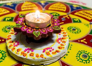 hari Diwali rangoli