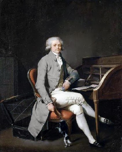 Maximilien Robespierre by Louis-Léopold Boilly, 1791