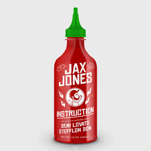 Jax Jones - Instruction (feat. Demi Lovato & Stefflon Don) - Single Cover
