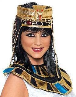 Egyptian Headpiece Fancy Dress Accessory  sc 1 st  Dress Up Costume Ideas & Dress Up Costume Ideas: Cleopatra Egyptian Fancy Dress Costumes