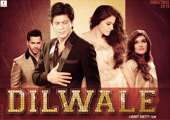 Dilwale Hindi Movie Trailer (2015)