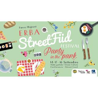 Street food festival 14-15-16 settembre Erba (CO)