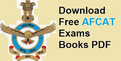 Download Free AFCAT Exams Books PDF