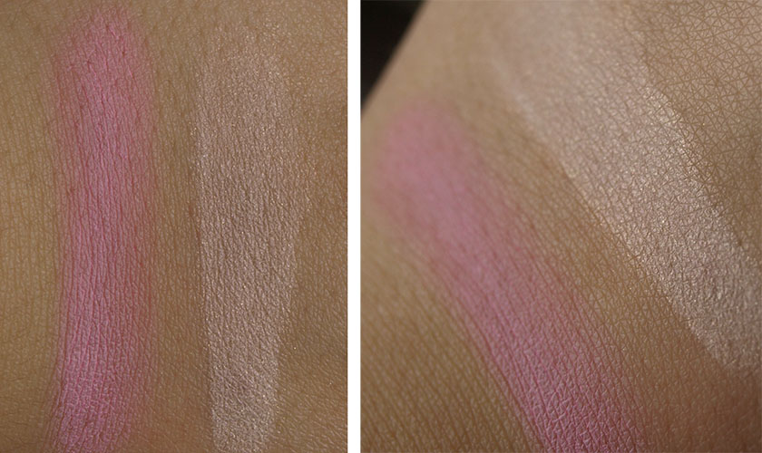 bourjois blush exclusif swatch, bourjois java rice powder swatch