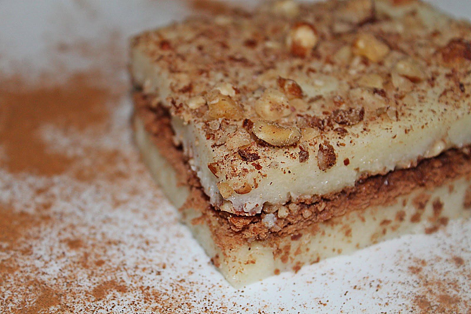 Bisküvili sütlü irmikli tatlı