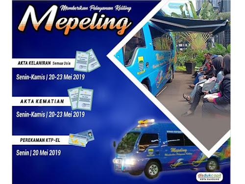 Jadwal Mepeling Kota Bandung Mei 2019