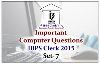Race IBPS Clerk 2015- Important Computer Questions