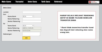 Untuk kali ini kami akan membahas wacana melaksanakan transaksi deposit  Info Tips Dan Cara Melakukan Transaksi Setor Dana, Tarik Dana Di JalanPoker
