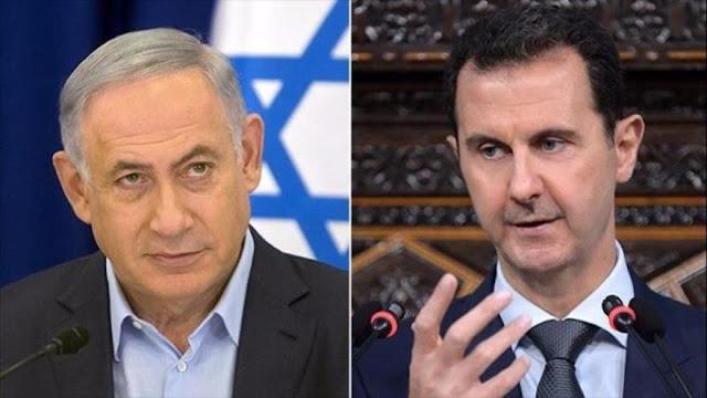 Netanyau envía una carta a Al-Asad y amenaza con atacar Siria