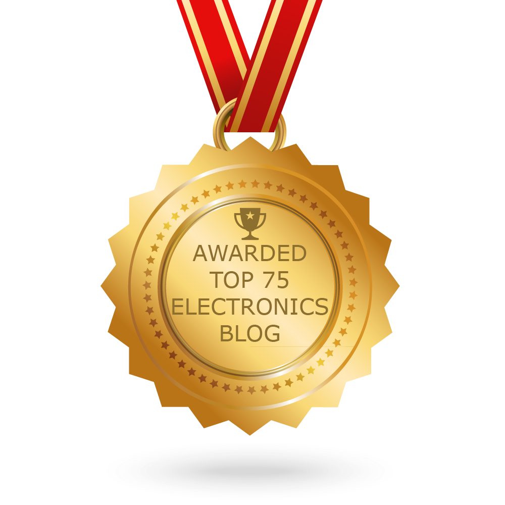 Top 75 Electronics Websites Blogs For Electronic Engineers Mini Project Ideas Electrical Engineering Ee Students Download Badge High Resolution Image