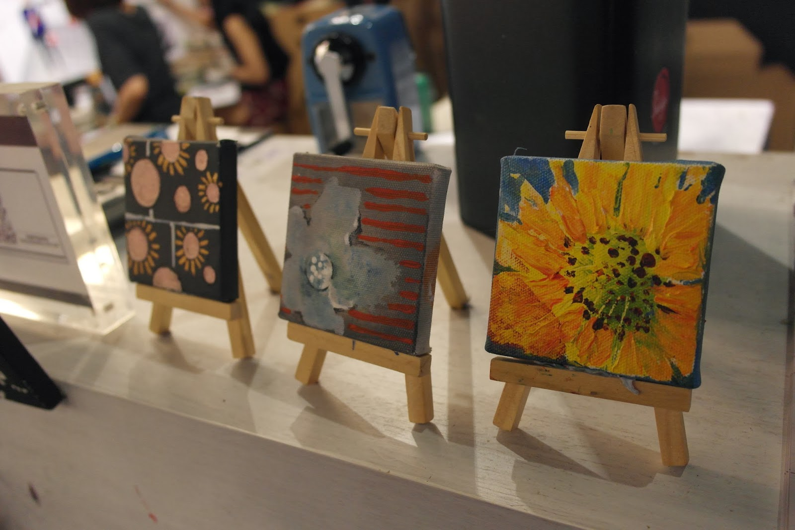 Paintings Can Be Use As Pretty Decorations These Cute Mini Are Part Of The Decoration Found At Arteastiq