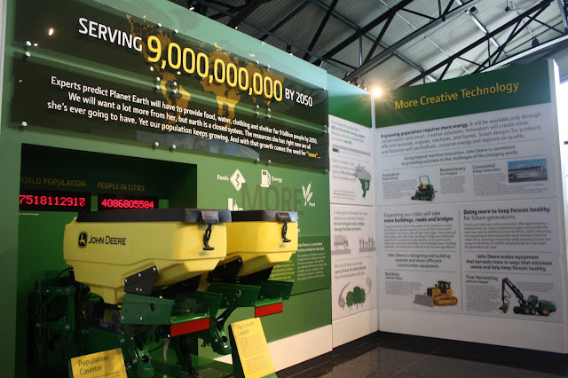 Learning about a more sustainable future with John Deere.