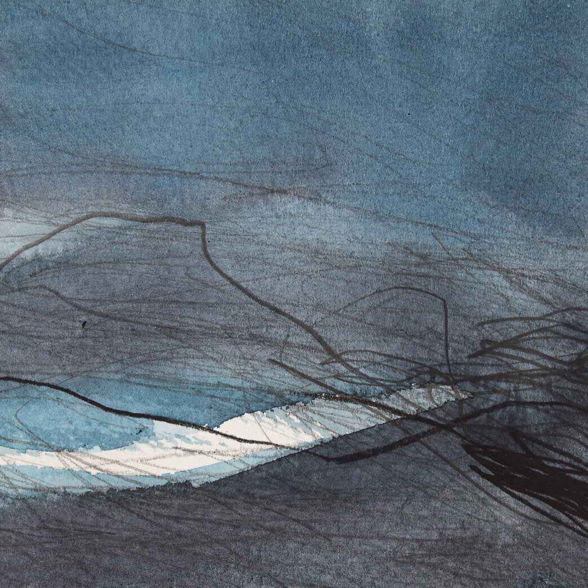 10 x 10 cm, aquarelle et crayons sur papier, 2 nov 14