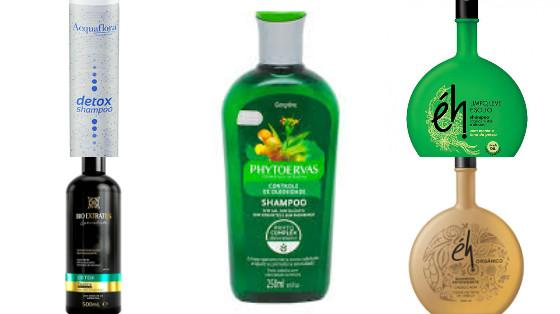 shampoos cabelos oleosos mistos low poo