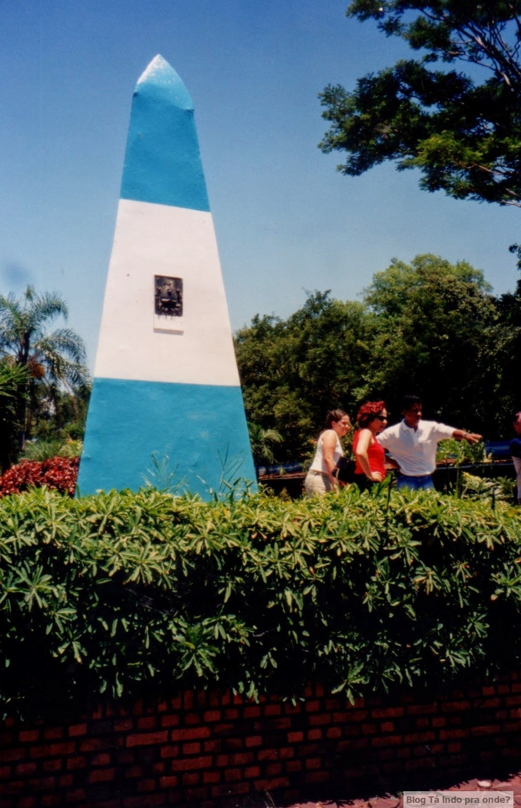Obelisco argentino na Tríplice Fronteira