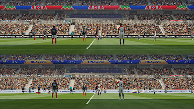 PES 2019 World Cup 2018 Stadiumboards by Ginda01