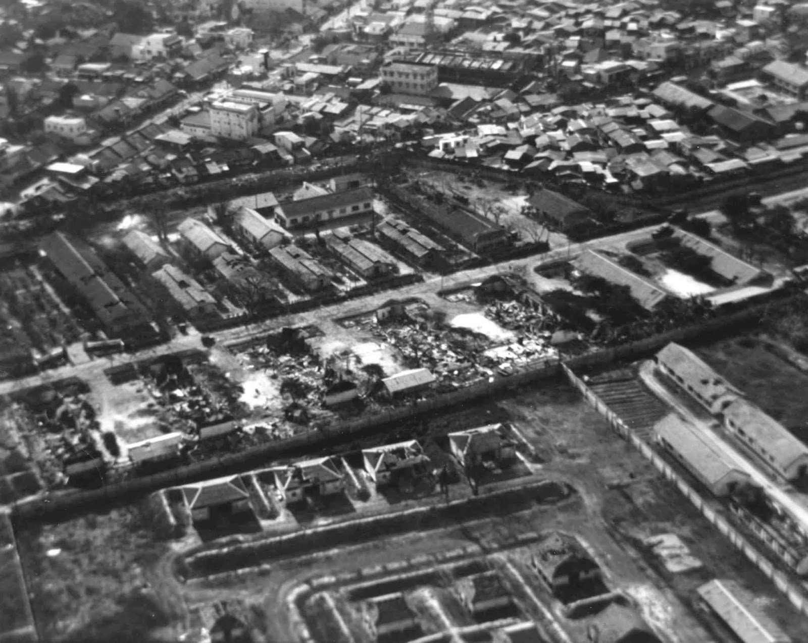 1968 SAIGON Aerial View