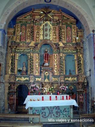 Retablo iglesia San Serni de Baiasca, Pirineo Catalan