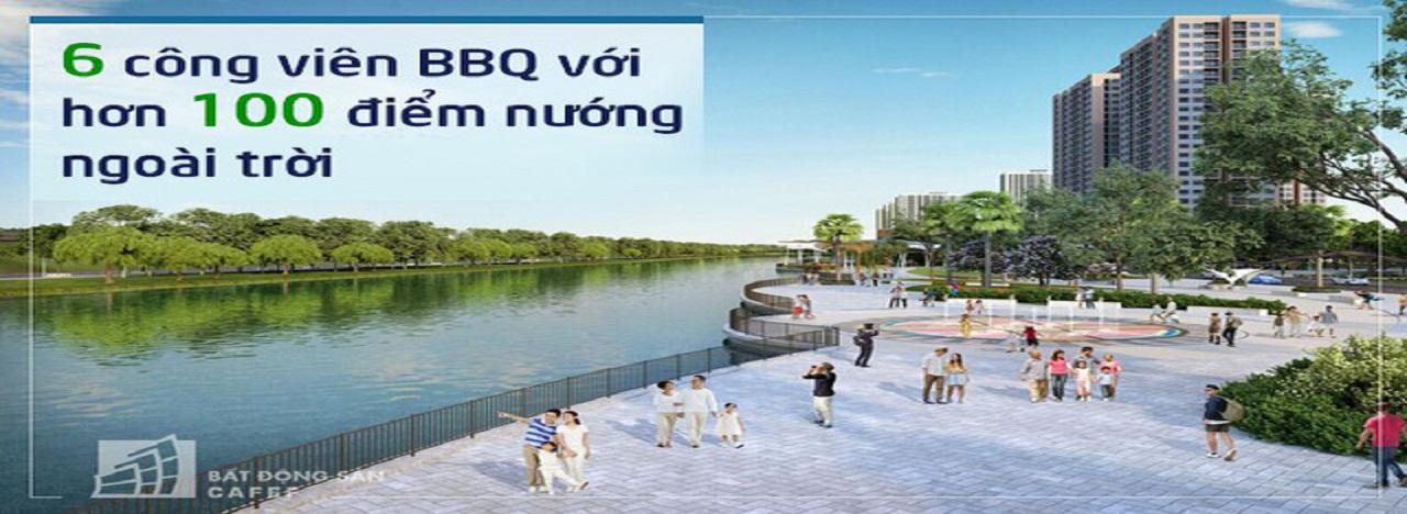Đại công viên BBQ Vinhomes Grand Park