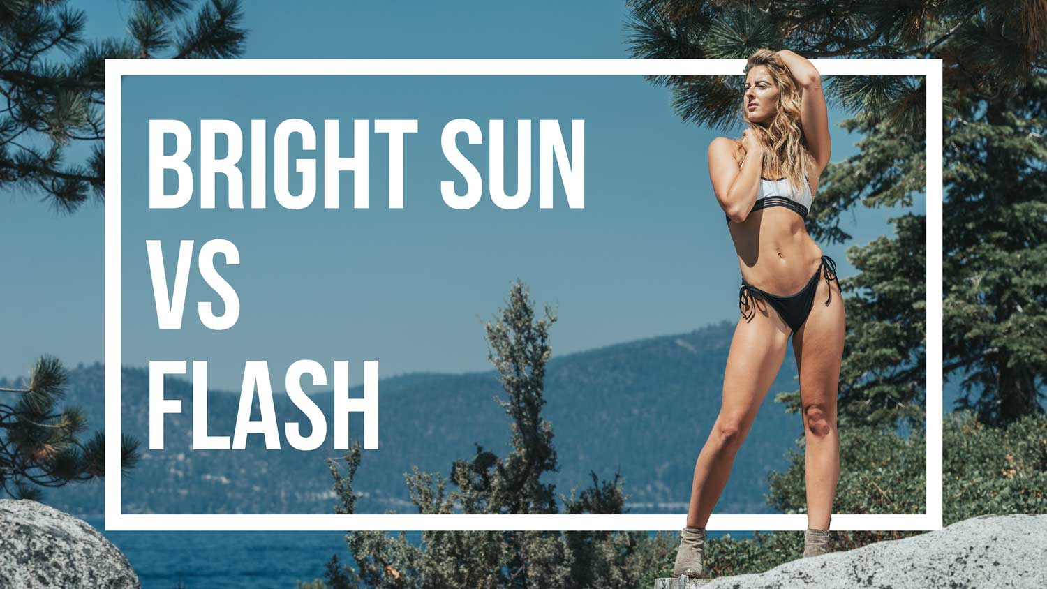 Overpower the sun: Take stunning OUTDOOR PORTRAIT PHOTOGRAPHY with a flash
