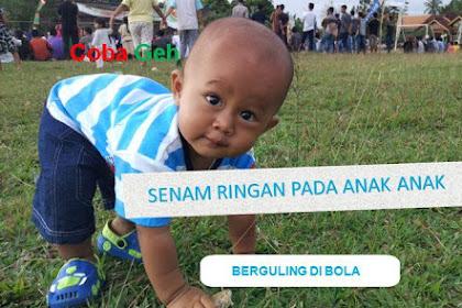 Gerakan Berguling di Bola Dalam Senam Ringan Pada Anak Anak Langkah Lanjutan