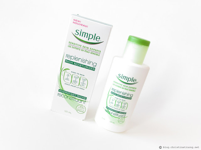 Simple Skincare Product Replenishing Rich Moisturizer Review