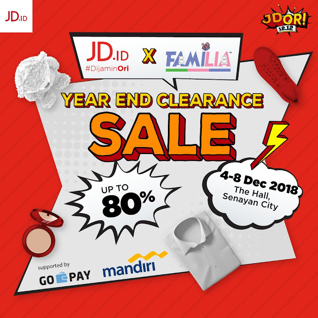 JDID - Promo Event Familia Year End Clearance Sale s.d 80% di The Hall Senayan City