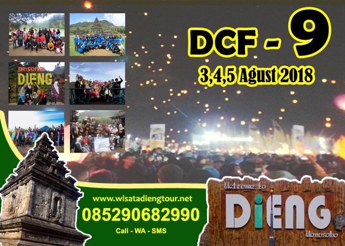 Info Tiket Dan Paket Dieng Culture Festival DCF 10 2019 Start Purwokerto/ Wonosobo  PAKET