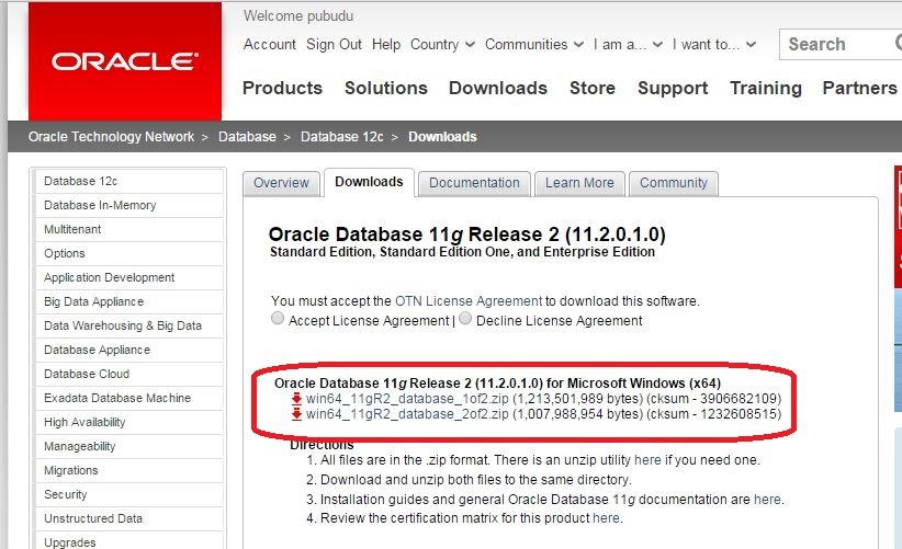 How to Install Oracle 11g Database on Windows 7 - Pubudu Dewagama