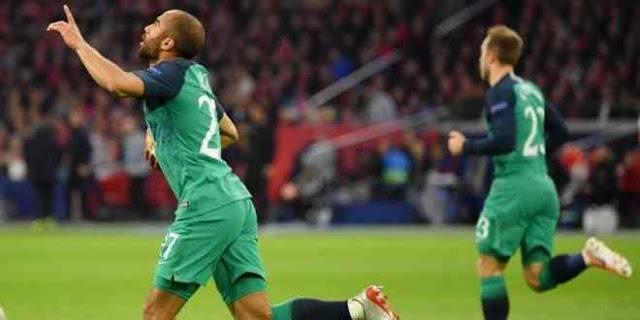 توتنهام يقلب تأخر بثنائية لفوز بالثلاثة ويضرب موعد ناري مع ليفربول في نهائي الابطال